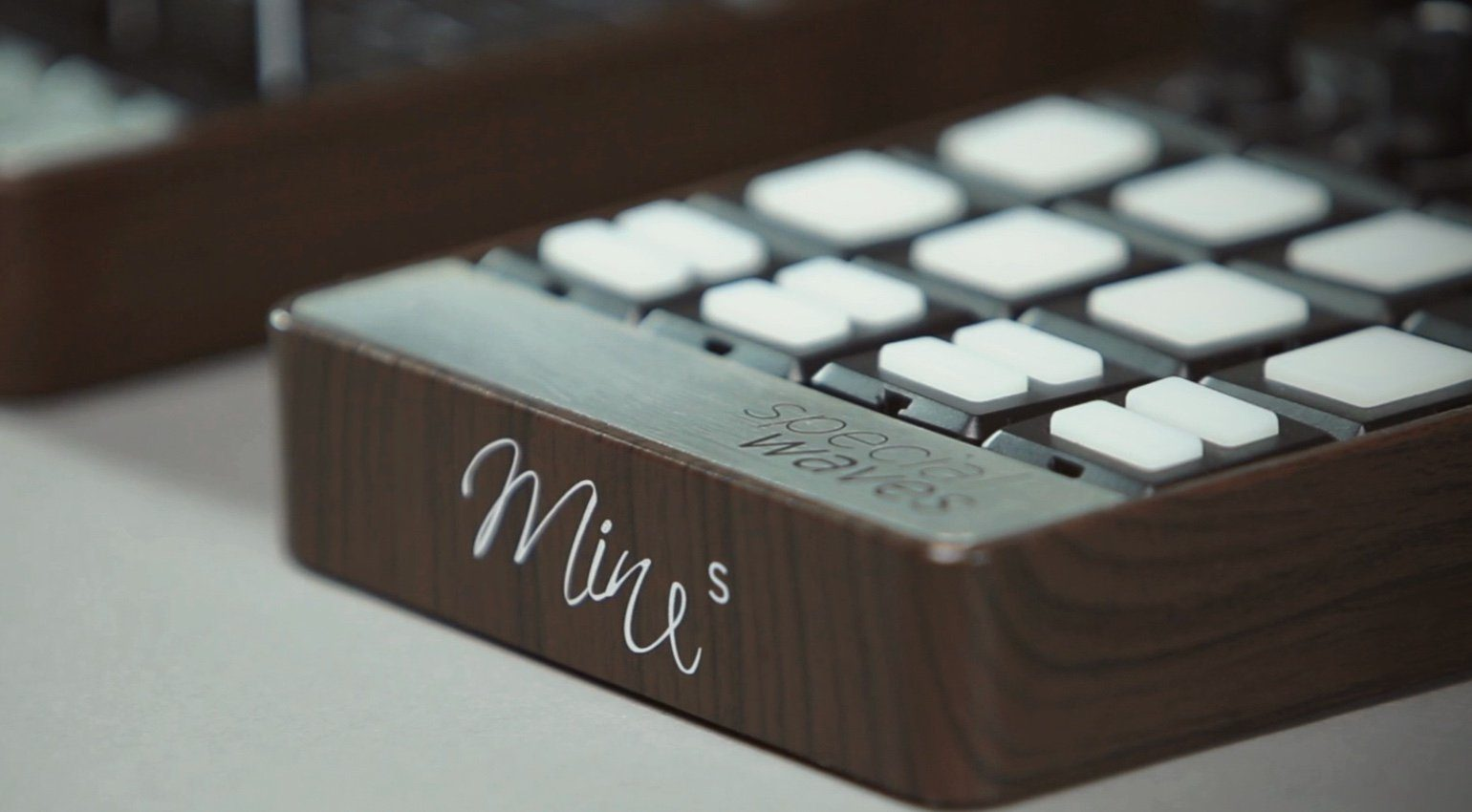 Special Waves Mine Mines MIDI Controller Mac Book Stacked