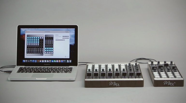 Special Waves Mine Mines MIDI Controller Modular Stacked Mac Book Pro