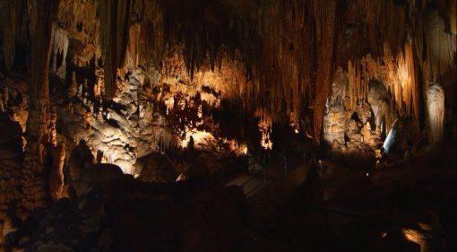Stalacpipe Luray Cavern Tropfstein Hoehle Orgel