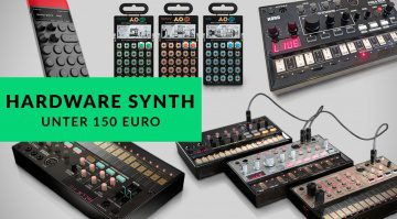 Top 5 Hardware Synthesizer 2016 bis 150 Euro