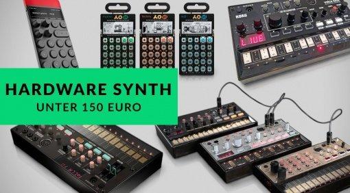 Top 5 Hardware Synthesizer 2016 bis 150 Euro
