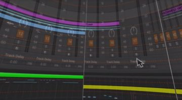 Tom Cosm Ableton Live GUI 3D Video Screenshot 1