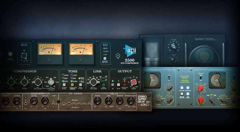 Universal Audio UAD 9.0 Software Plug-in GUI Front