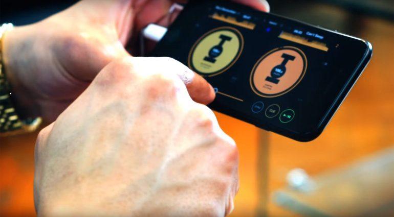 Pioneer WeDJ iPhone