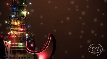 Weihnachts Bild Wunschzettel Musiker-Board