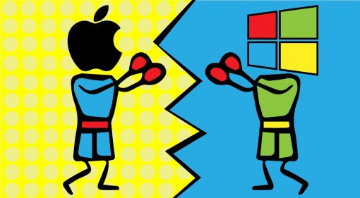 Apple vs. Microsoft / OSX vs. Windows