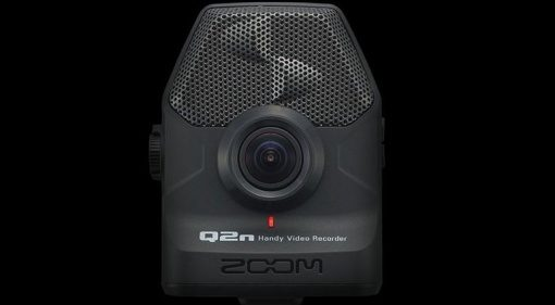 Zoom Q2n Handy Video Audio Recorder HD Weitwinkel Front
