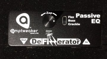 AmpTweaker DeFizzerator Pedal Effekt Passiv Equalizer Front