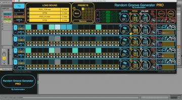 Audiomodern Random Groove Generator Pro - diesen Beat kann man sich auch mal bauen lassen