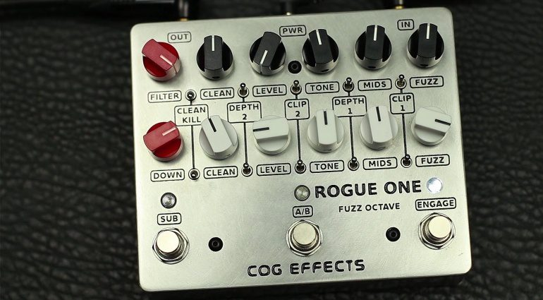 Cog Effects Rogue One Pedal Effekt Front