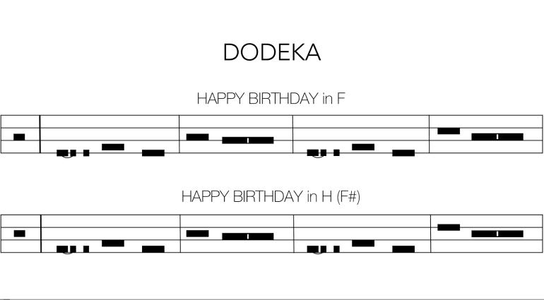 Dodeka - die Revolution des Noten-Theorie kommt aus der Schweiz