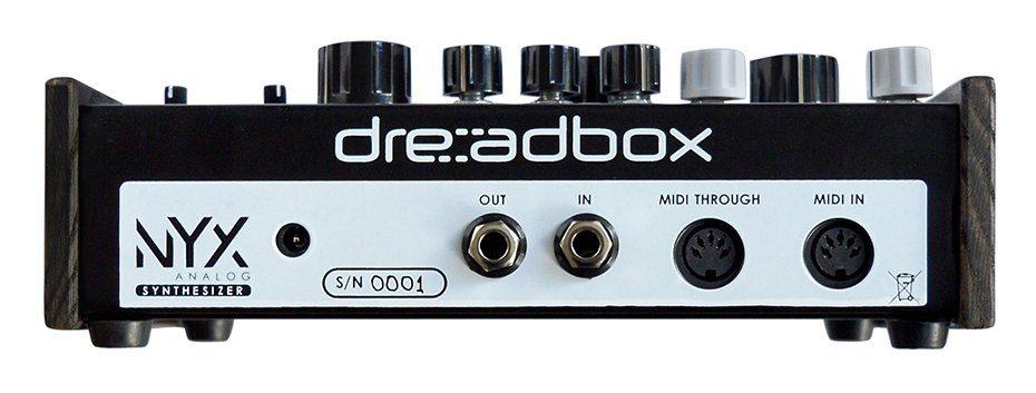 Dreadbox Nyx Synthesizer Analog Hardware Rueckseite Desktop