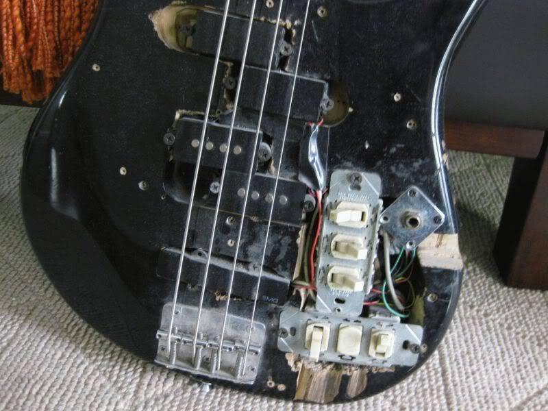 E-Gitarre nach DIY Kur Front Close Up 14