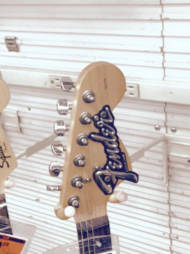 E-Gitarre nach DIY Kur Front Close Up 3