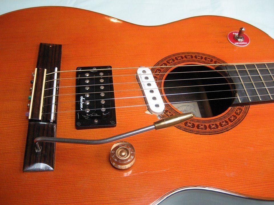E-Gitarre nach DIY Kur Front Close Up 5