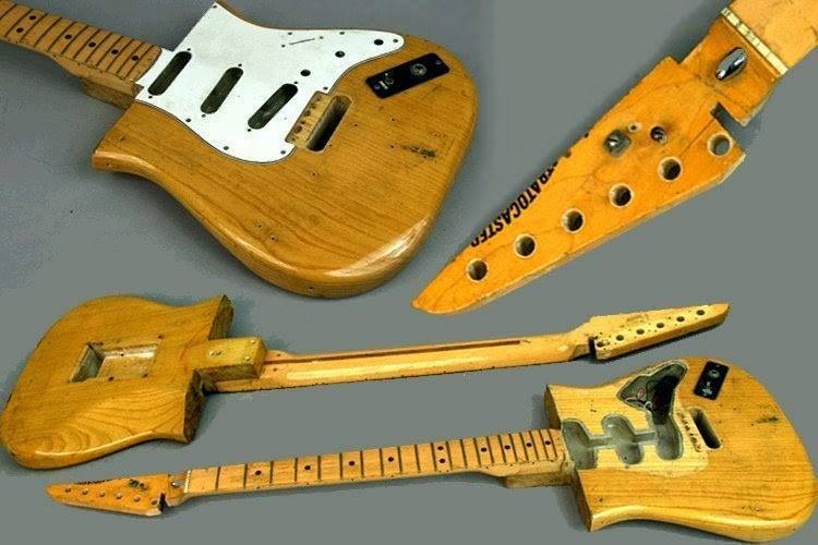 E-Gitarre nach DIY Kur Front Close Up 7