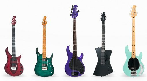 Ernie Ball Music Man 2017 Line Up Fruejahrs Kollektion Serien
