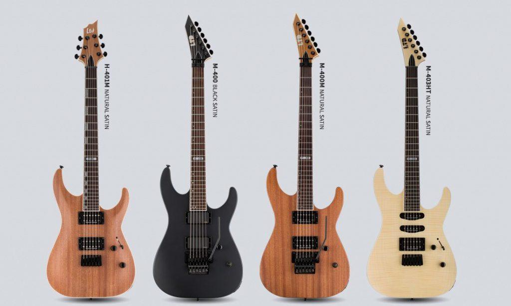 ESP LTD 400 Serie E-Gitarre 2017 Front