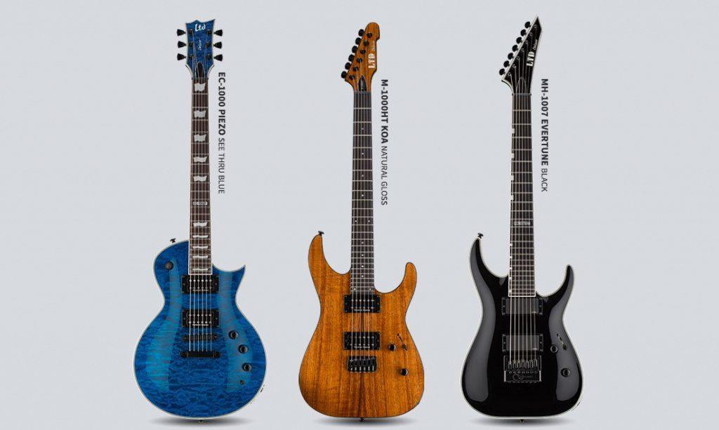 ESP LTD Deluxe 2017 E-Gitarren Front