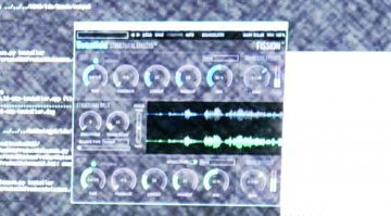 Eventide Fission Plug-in Effekt GUI Oberflaeche