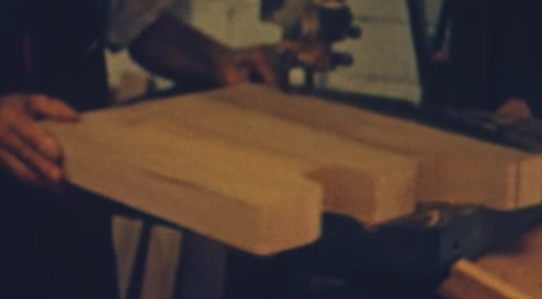 Fender Stratocaster Body Forrest White Movie