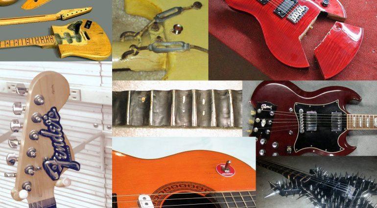 Gitarren nach DIY Kur Teaser