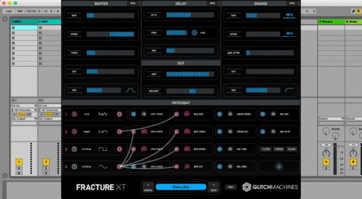 Glitchmachines Fracture XT - patchbare Glitch-Fabrik deluxe