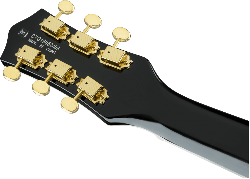 Gretsch Electromatic Pro Jet Black Headstock Close Back
