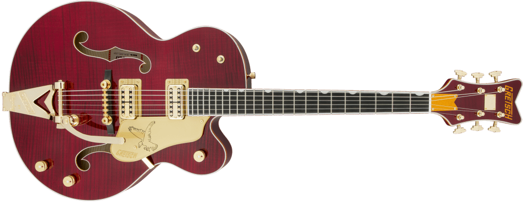 Gretsch Falcon Dark Cherry Stain Total Front