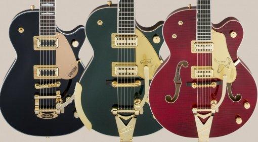 Gretsch Limited Edition Falcon Penguin Electromatic Pro Jet E-Gitarre Front