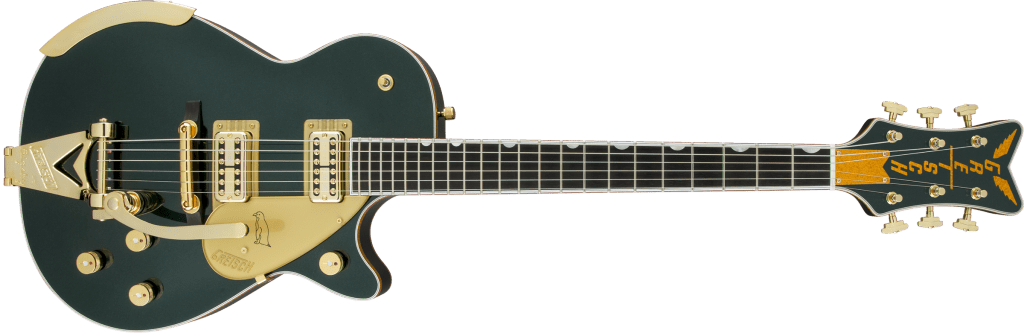 Gretsch Penguin Cadillac Green Metallic Front Total