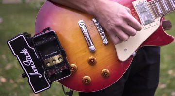 Jamstick Les Paul Clip On Amp Verstaerker Kickstarter Front