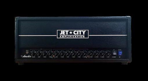 Jet City Amelia Topteil Vollroehre Verstaerker Front Titel
