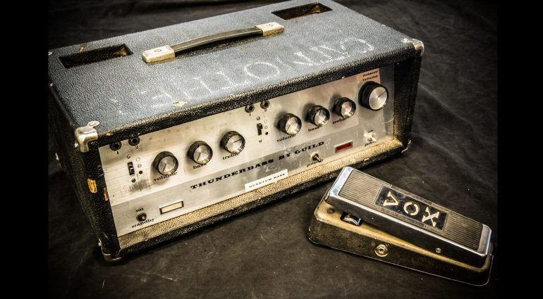 Jimi Hendrix Experience Vox Wah Pedal Guild Thunderbass Topteil Auktion