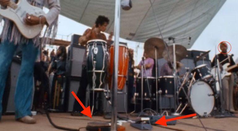 Jimi Hendrix Woodstock Vox Wah Pedal 2