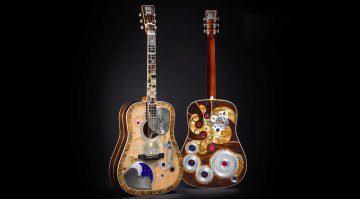 Martin D-45 Deluxe Uhr Akustik Gitarre Front Back
