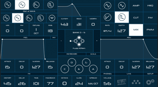 Modal Electronics CRAFTapp - zum Fernsteuern der verborgenen CraftSynth Funktionen