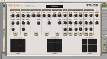 Momo Müller Roland Boutique TR-09 MIDI-Editor - Drums über den Rechner steuern