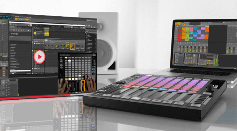 Native Instruments Maschine JAM kontrolliert neue Mitspieler