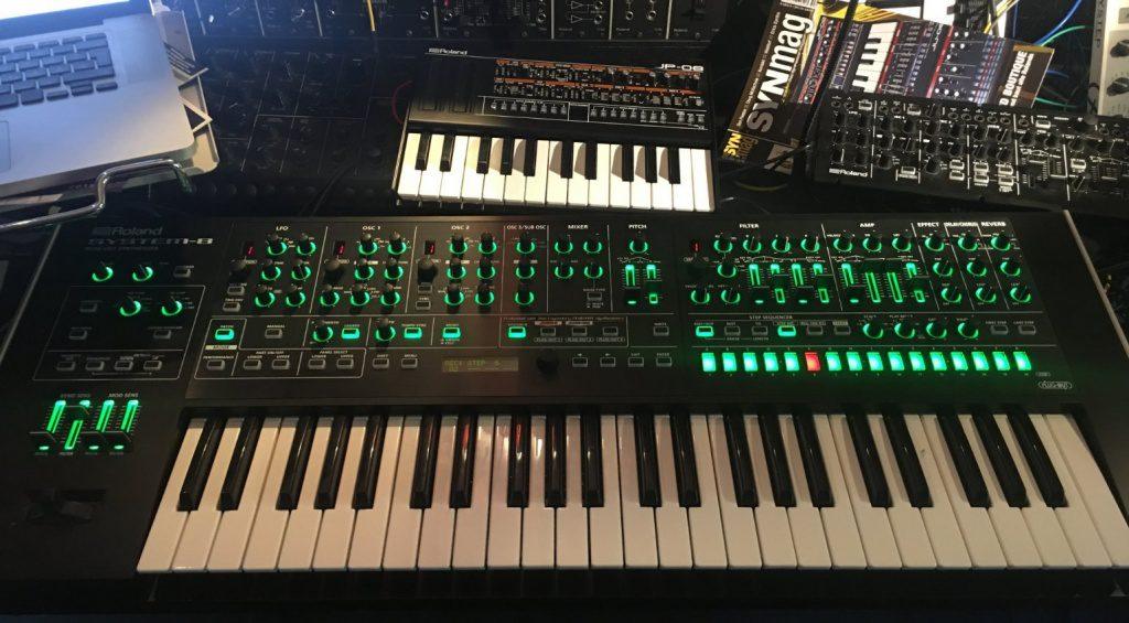 Roland System 8 - beim Test mit Sys700, JP08, System 1m