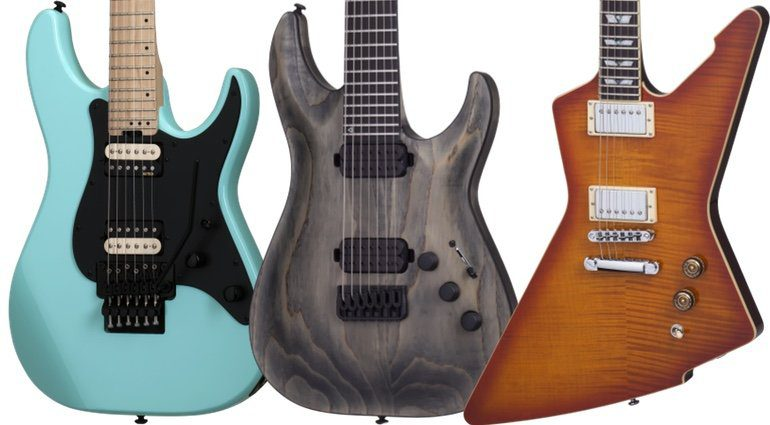 Schecter 2017 Line Up E-Gitarre Front