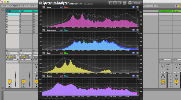 SIR Audio Tools SpectrumAnalyzer - kostenloses Messinstrument für jede DAW