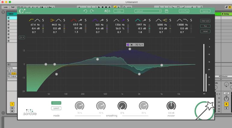 Sonible Smart:EQ+, Proximity:EQ+ und Entropy:EQ+ - mit Intelligenz zum perfekten Sound