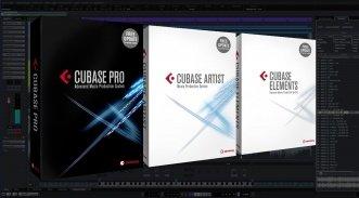 Steinberg Cubase Pro 9 Artist Elements Packshots DAW GUI Titelbild