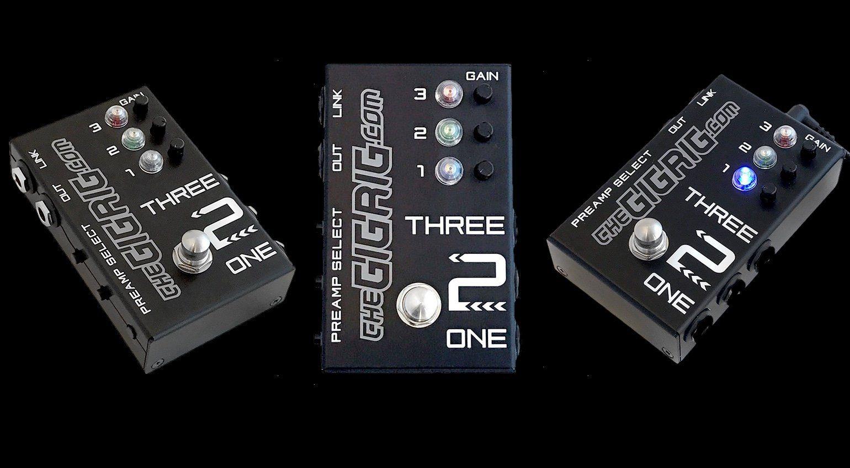 Gitarren-Switch mit Preamps, Buffer und intelligenter Schaltung ...