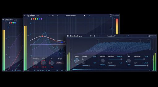 Tracktion DAW Essential Collection Plug-in Effekt Paket