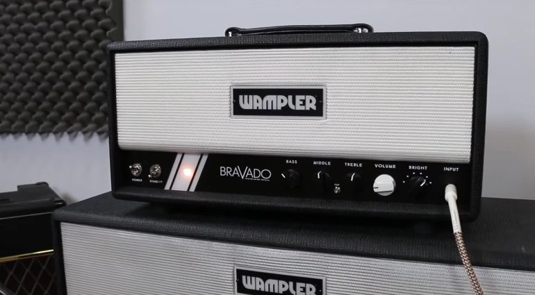 Wampler Bravado Topteil Amp Vollröhre Front Cab