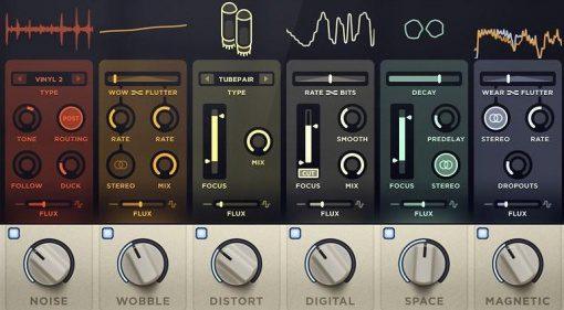 XLN Audio RC-20 Retro Color Plug-in GUI Teaser