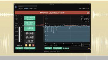 Youlean Loudness Meter Plug-in GUI Histogramm Logic X EBU
