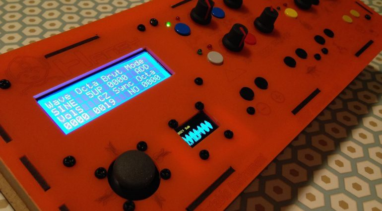 0101 Hansy Synthesizer DIY
